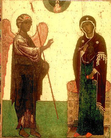 Благовещение Пресвятой Деве Марии